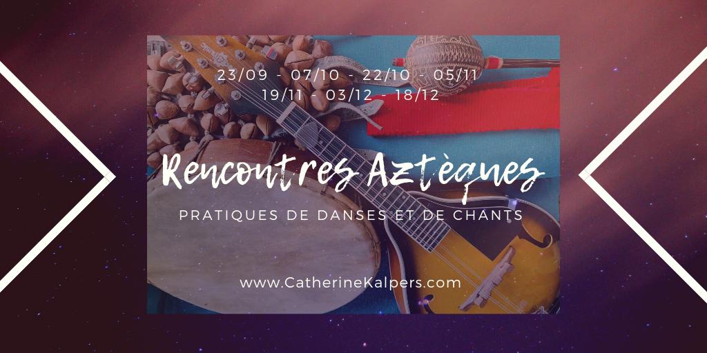 Rencontres Aztèques: Pratiques de Danses et de Chants